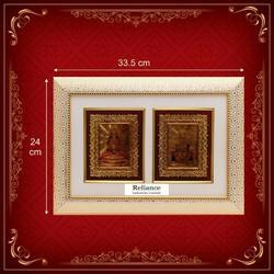 Wooden Golden Decorative Photo Frame, For Gift, Size: 10x12