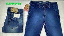 Blue Comfort Fit Men Denim Jeans, Yes