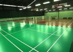 Sports Flooring Service, Warranty: 1 Year