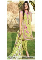 Chiffon Party Wear Emaan Eshaal Embroidered Lawn Suit
