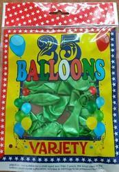 Variety Shining Balloons Pack Of 25