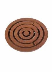 Multicolor Desi Toys Labyrinth/Maze/Swirl Wooden Kids Toy