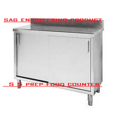 Stainless Steel Prep Food Counter