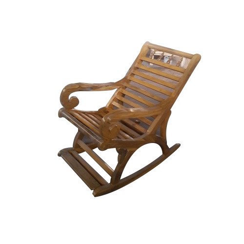 Teak Wood Rocking Chairs