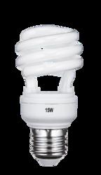15W Half Spiral CFL Lamp