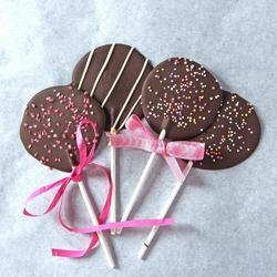 Chocolate Lolipops - Sprinklers