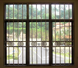 Window Steel Grills