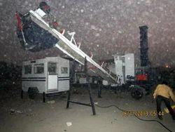 Mobile Bitumen Mixing Plant