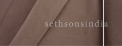 Seth Sons India Moleskin Cotton Fabric, GSM: 180 to 550