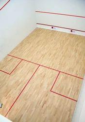 Brown Squash Sport Flooring