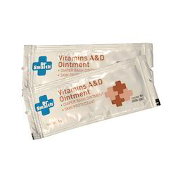 Manufacturer and Exporter of Vitamin A & D Ointment (5g)