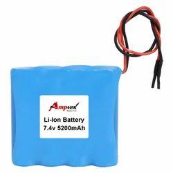 5200 MAH Lithium-Ion Battery Pack 7.4V