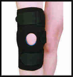 BERYLCARE CARE Hinged Knee Support Open Patella Strapping Neo, Size: Large, Adult