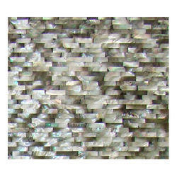 Mother Of Pearl Grey Tile