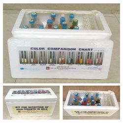 Kit For Detection Of Adulterants In Milk ( Large K it)
