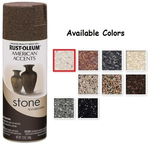 Rust Oleum American Accents Textured Stone Spray Paint Truworth