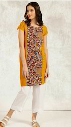Kalamkari Box Dress With Pockets