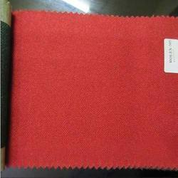Red Plain Heavy Mesh Fabric