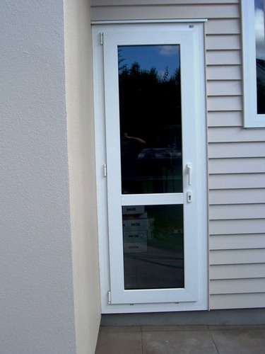 Upvc Glass Door At Rs 900 Square Feets Unplasticized Polyvinyl