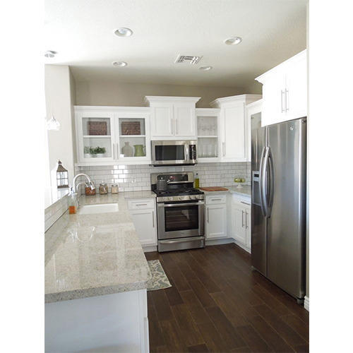 Laminated Modular Kitchen At Rs 1400 Square Feet: Laminated L Shaped Modular
