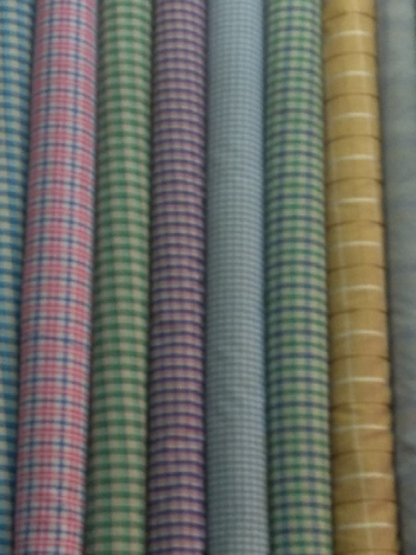 Ladies Suit Material and Check Shirt Fabric Wholesale Sellers