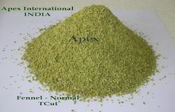 Apex International Green Fennel seed T Cut Foeniculum Vulgare, Packaging Type: Bag, Packaging Size: 25 Kg