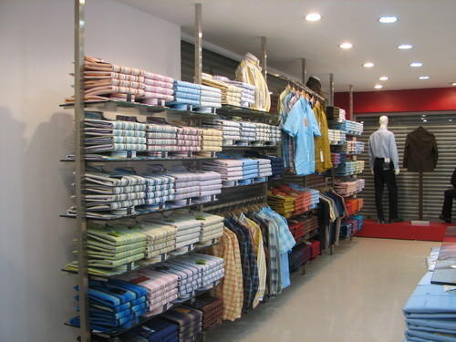 a2e74c7f6f Garment Display Rack And Stand - Double Side Rack Manufacturer from ...