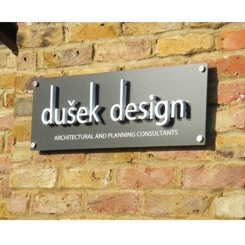 3D Metal Name Plate At Rs 15 /per Square Inches