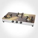 Oval Gas Stove Glass Top