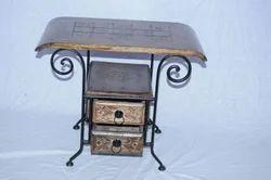 Antique Side Table, Number Of Drawer: 2