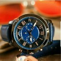 Analog New Men Leather Watch, Model Name/number: Fossil