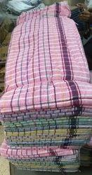 Multicolor Checks Towels, For Bathroom, Size: 30*60