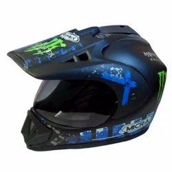 ARMEX Fiberglass Micra Blu Helmet, Size: M