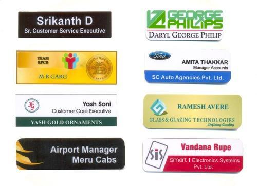 Professional Name Badges And Name Tags