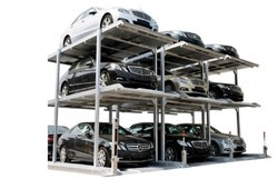 Triple Stake Parking System