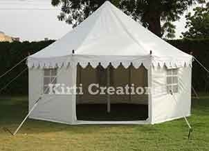 Romantic Bhurj Tent