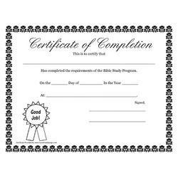 Custom Certificate Printing Service