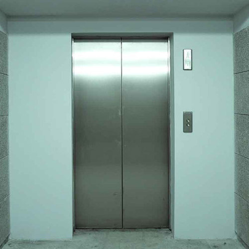 Automatic Center Opening Lift Door & Automatic Center Opening Lift Door at Rs 750000 /piece   Elevator ...