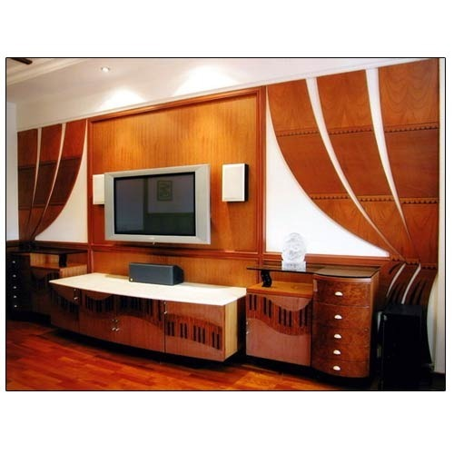 Bedroom Designs From Professionals In Hyderabad  C2NyYXBlLTEtRHBWSGVH: Designer TV Units At Rs 30000