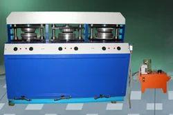 3 Stage 3 Die Areca Leaf Plate Making Machine
