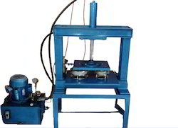 Semi Automatic Paper Plate Cutting Machine