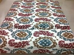 Suzani Embroidery Bed Cover