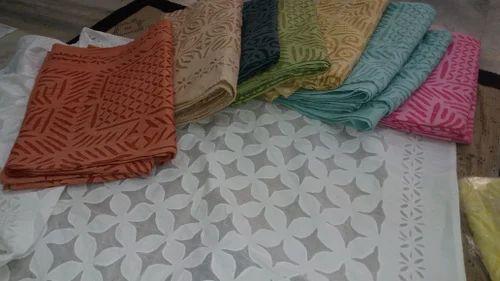 Jaipuri cotton multicolor cotton applique patchwork bed sheets rs