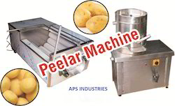 Potato Skin Remover Machine