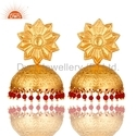925 Silver Jhumka Earrings