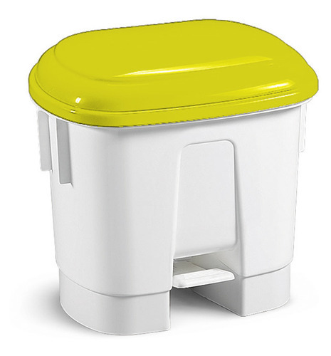 Derby - 30 Lt Bin With Pedal And Yellow Lid