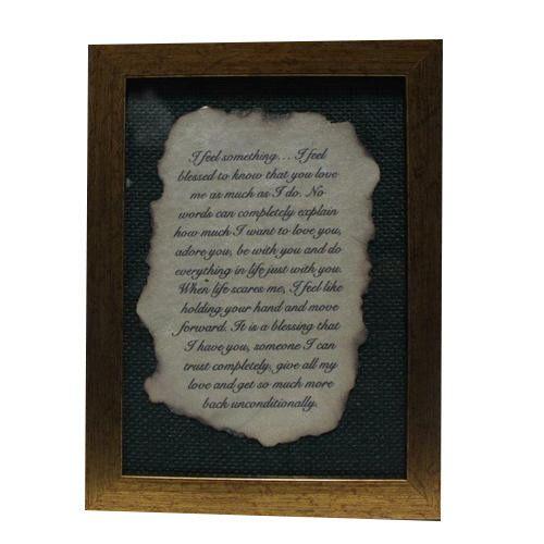 burnt love letter frame picture frame photo frame border khatte
