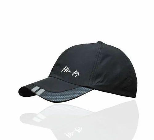 Black Unisex Trendy Caps f2c13bb6314