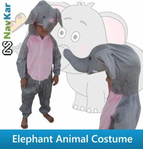 Elephant Animal Costume for Fancy Dress Competition for Kids  sc 1 st  IndiaMART & Elephant Animal Costume for Fancy Dress Competition for Kids at Rs ...