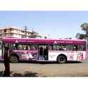 Vinyl City Bus Advertising Service, For Advertisement, In Pan India